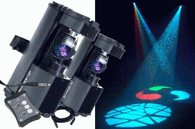 American DJ's Mobile Comscan LED System