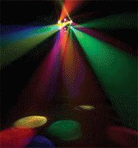 American DJ's Hexstar Centerpiece Effect-Body