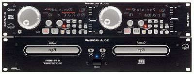 American Audio MCD-710 Dual MP3/CD Player-Body