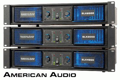 ELX Series Power Amps