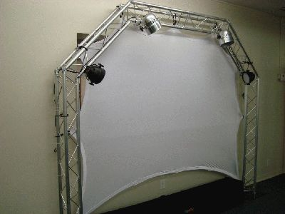 Global Screen From Global Truss