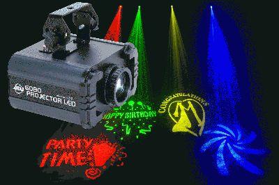 american Dj Gobo Projector