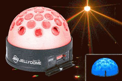 American DJ Jellydome Transparent LED Moonflower