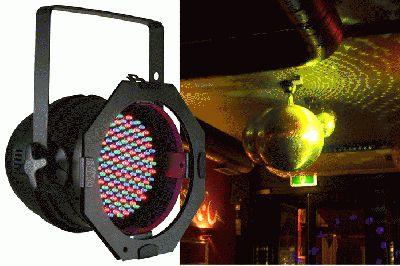 American DJ P64 LED