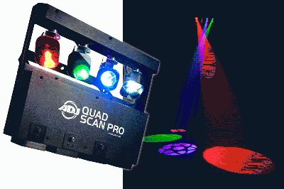 ADJ Quad Scan Pro