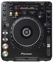 Pioneer CDJ-1000MK3 and CDJ-800MK2 refined with new features including MP3 capability-Spotlight